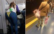 Παράξενες και κωμικοτραγικές φωτογραφίες στα μέσα μεταφοράς #34