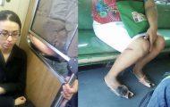 Παράξενες και κωμικοτραγικές φωτογραφίες στα μέσα μεταφοράς #35