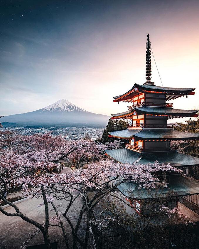 Ιαπωνία σαν καρτ ποστάλ   Φωτογραφία της ημέρας