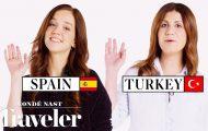 70 άνθρωποι δείχνουν πως λένε Γεια και Αντίο στη χώρα τους