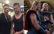 21 φωτογραφίες των Avengers με τους κασκαντέρ σωσίες τους