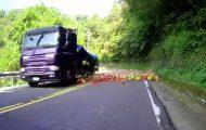 Καρπούζια στο δρόμο