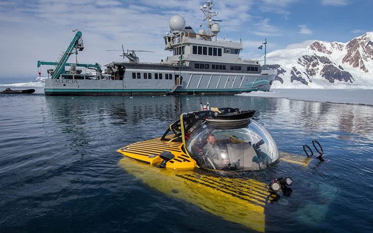 Κατάδυση στον βυθό της Ανταρκτικής αποκαλύπτει έναν ολόκληρο υποθαλάσσιο κόσμο