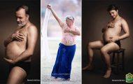 Ξεκαρδιστικές φωτογραφίες εγκυμοσύνης με μπυροκοιλιές