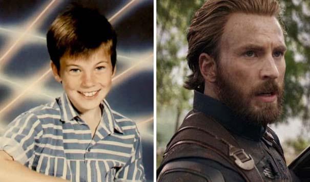 Δείτε πως ήταν οι πρωταγωνιστές των Avengers σε παιδική ηλικία (6)