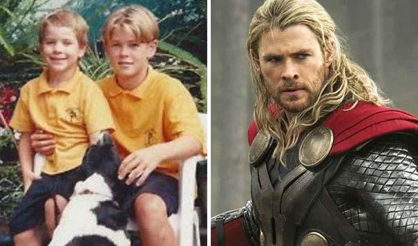 Δείτε πως ήταν οι πρωταγωνιστές των Avengers σε παιδική ηλικία (8)