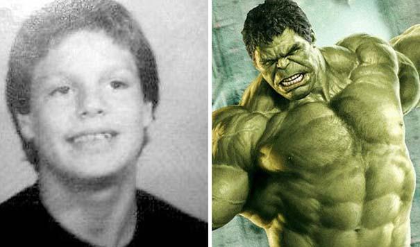Δείτε πως ήταν οι πρωταγωνιστές των Avengers σε παιδική ηλικία (12)