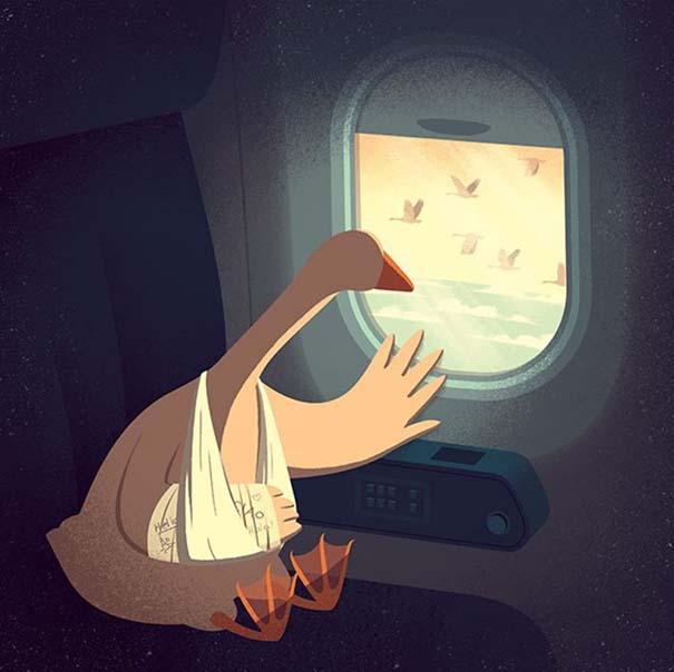 Σκίτσα που προκαλούν σοβαρή σκέψη για τον κόσμο που ζούμε (11)