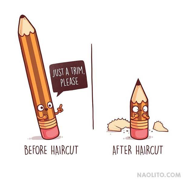 Σκίτσα «πριν και μετά» που θα σας κάνουν να ταυτιστείτε (5)