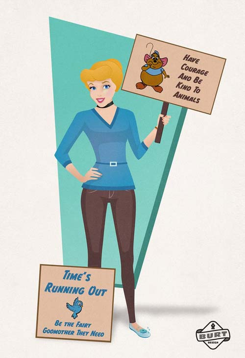 Σκιτσογράφος δείχνει τι καριέρα θα ακολουθούσαν σήμερα οι πριγκίπισσες της Disney (13)