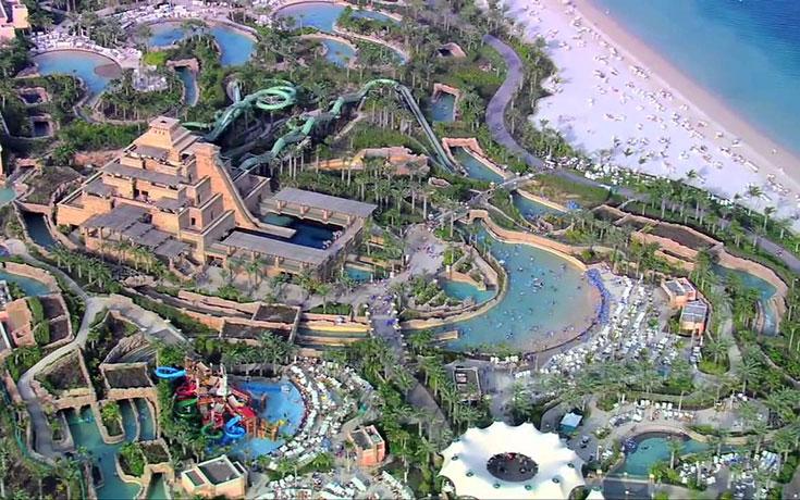 Οι πραγματικά απίθανες νεροτσουλήθρες του Ντουμπάι