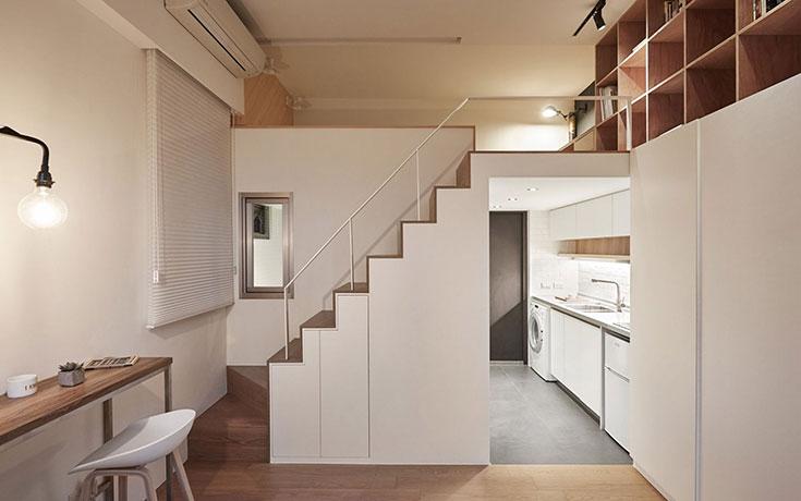 Μικροσκοπικό διαμέρισμα χρησιμοποιεί στο έπακρο τον διαθέσιμο χώρο (1)