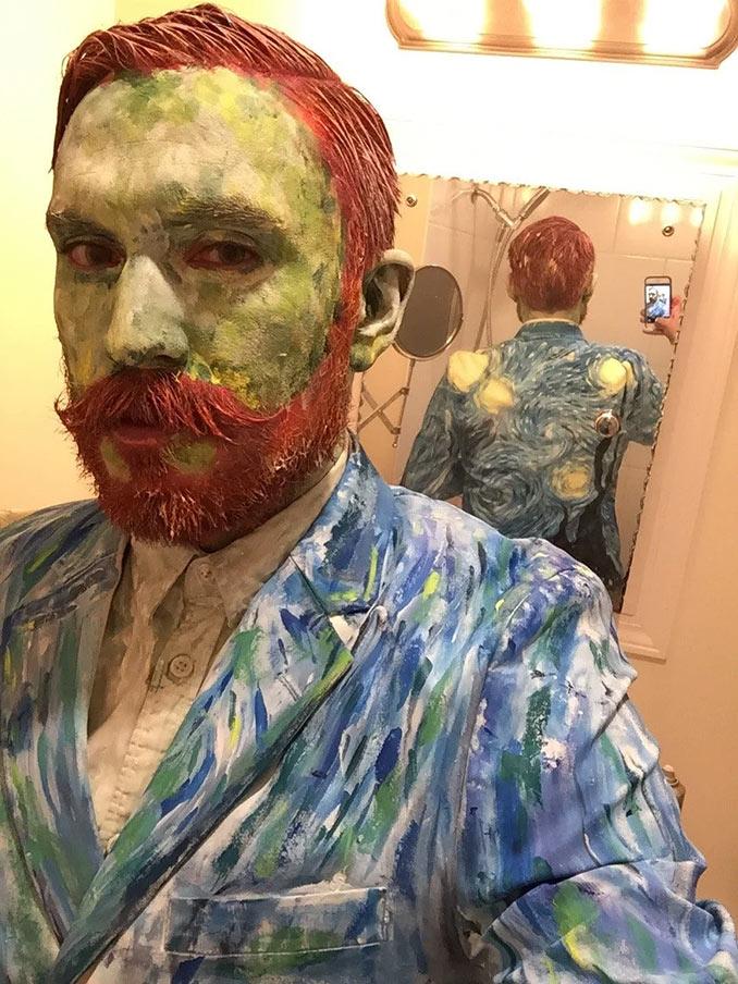 Αποκριάτικη μεταμφίεση Van Gogh | Φωτογραφία της ημέρας