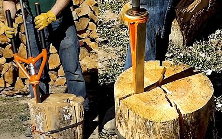 Το πρωτοποριακό εργαλείο που κόβει ξύλα με ασφάλεια και ευκολία (Video)