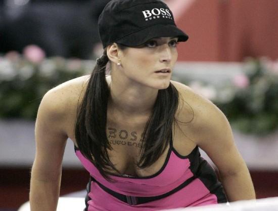 Κορίτσια για τα μπαλάκια του Tennis (3)