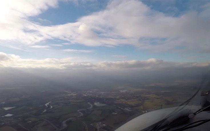 Πτήση από το Λονδίνο στο San Francisco σε 3 λεπτά (Video)
